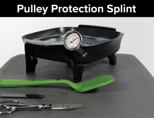 Pulley Protection Splint